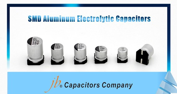 JCE - 3000H at 105°C, Long Life Assurance SMD Aluminum Electrolytic Capacitor