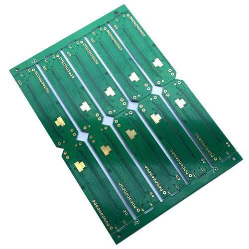 Plating Gold FR-4 Single-Sided PCB