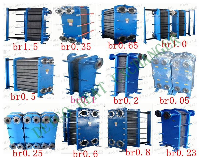 BR0.5 TYPE plate heat exchangers plate and frame heat exchangers  gasket plate heat exchangers