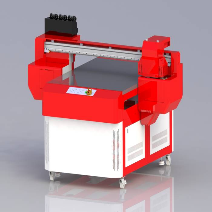 Advertising Signs Label UV Flatbed Printing Machine