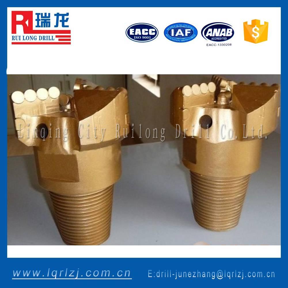 flank scraper non core PDC drilling bit