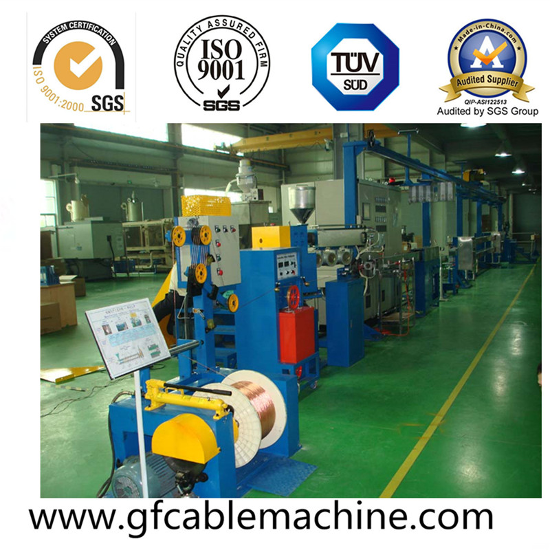 Plastic PVC Wire Extruder Machine Equipment
