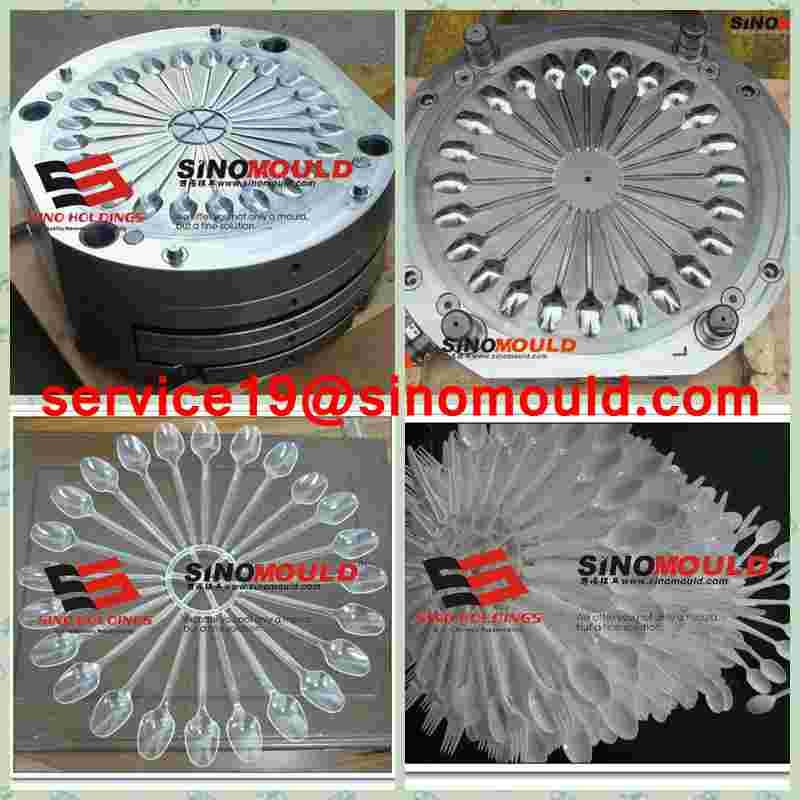 disposible plastic spoon/ knife/ fork mould