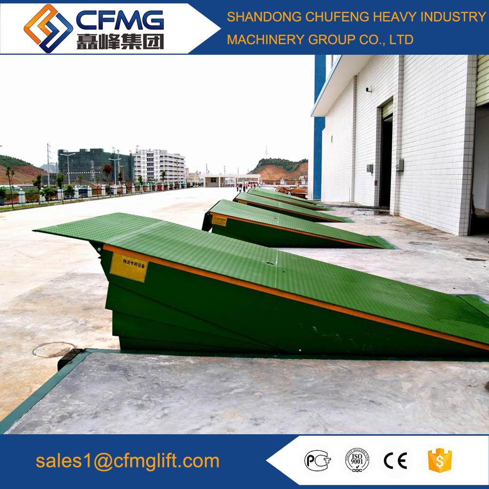 2017 CE SGS TUV dock leveller for container Dock leveler for Warehouse