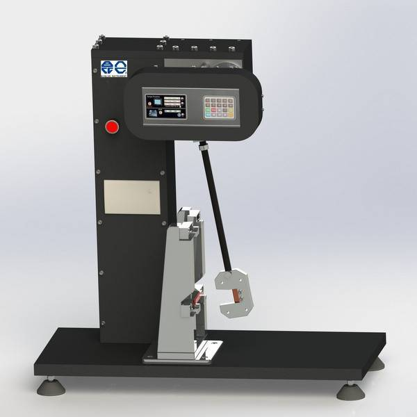 Digital display charpy impact tester
