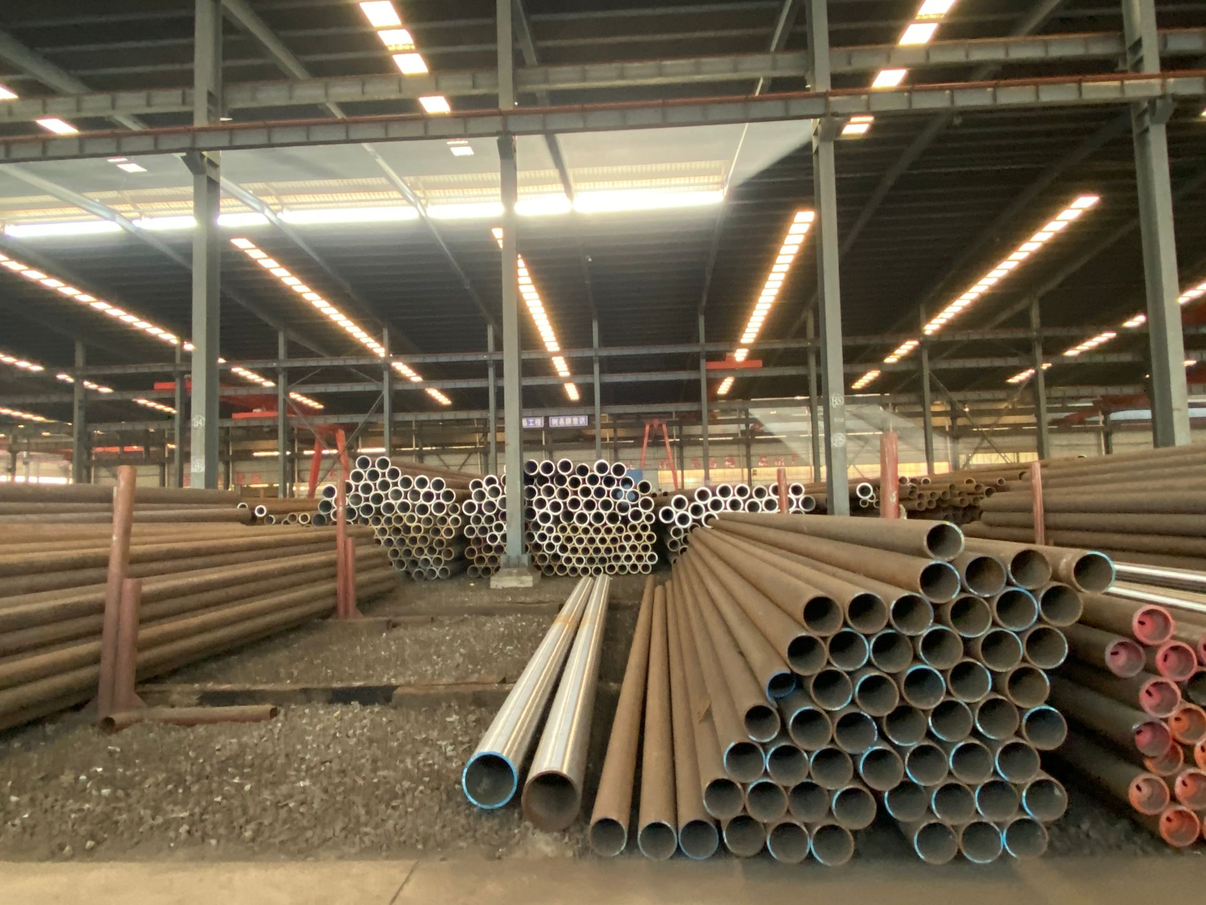Alloy Round Steel Tube High Temperature Seamless pipe