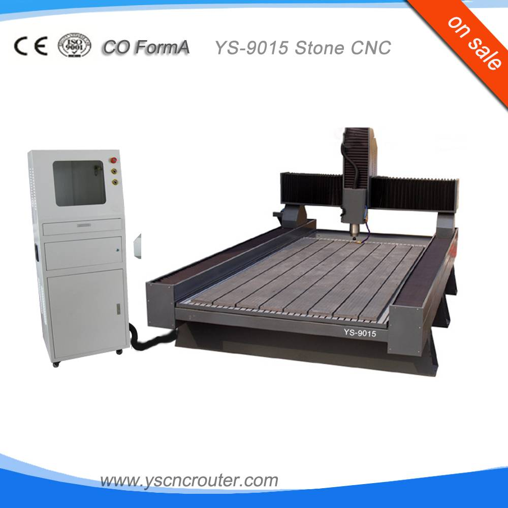 9015 Marble Stone cnc router granite engraving machinery