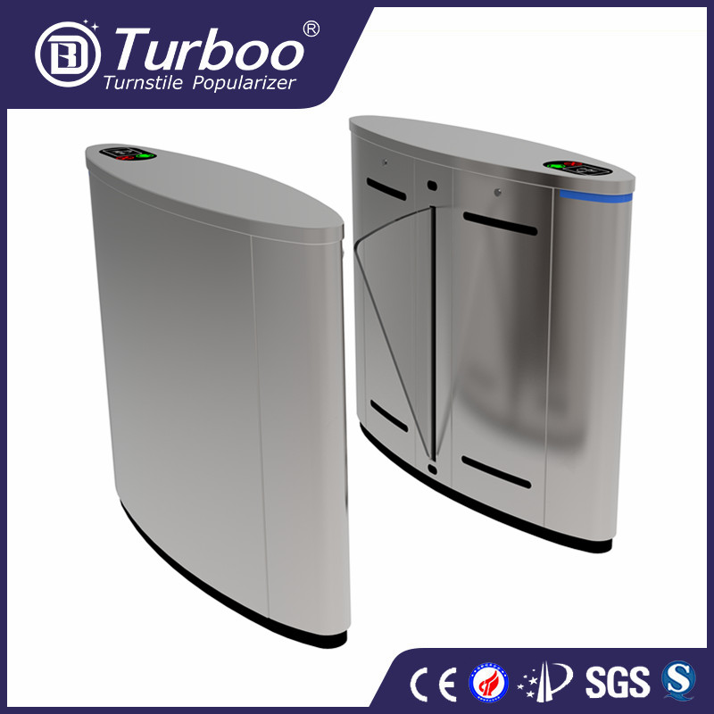 Turboo A203:barrier gate, high quality automatic flap turnstile,security entrance gate