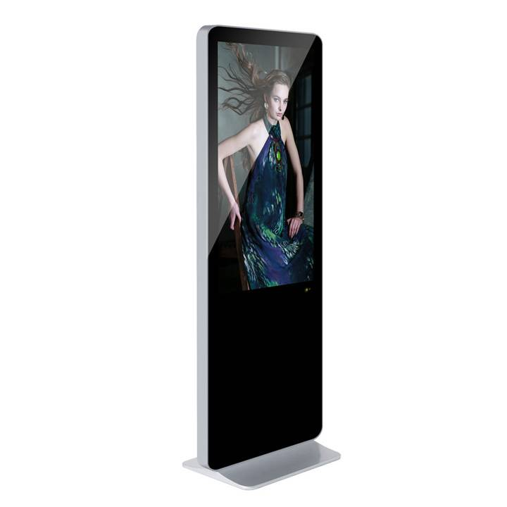 55inch iPad shape indoor floor-standing LCD digital signage