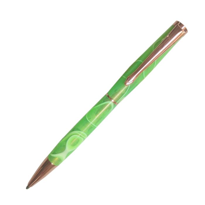 #PKSL-2-RG Slimline Rose Gold Twist Pen Kit