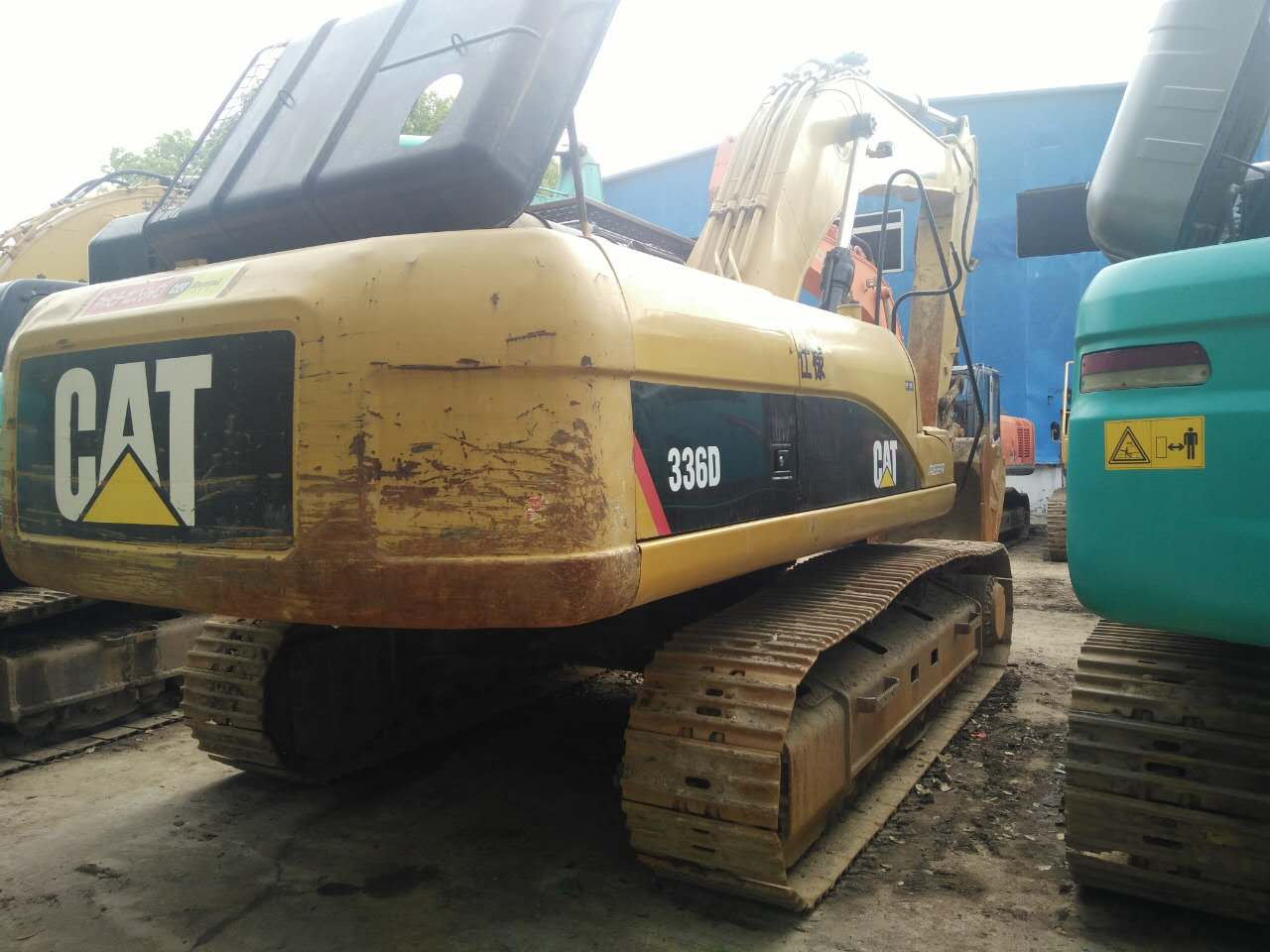 Used Caterpillar 336D crawler excavator good condition for hot sale