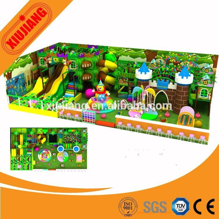 Factory direct sale children commercial indoor playground equipment