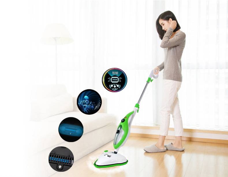 2016 fashion and cordless uv steam mop