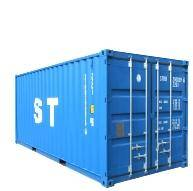 20'  ISO container