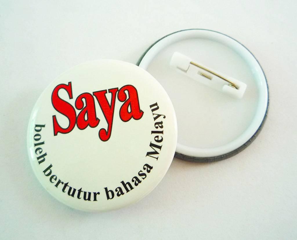 customized tin badge promotion badge