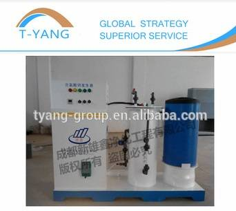Integrated Sodium hypochlorite generator