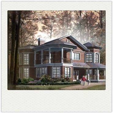 441 sqm light steel villa