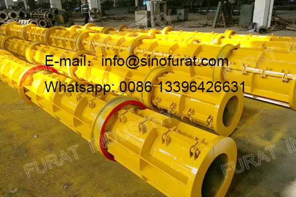 Concrete PHC Pile Plant Mould Concrete PHC Pile Mould is manfactured by Furat Industry Manufacturing