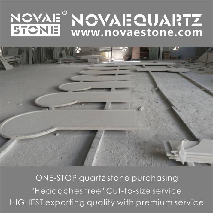 Luxor artificial quartz stone