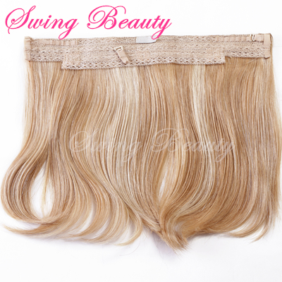 Most Fashion Double Weft Remy Virgin Double Drawn Wholesale Cheap halo Hair Extensions Human Hair