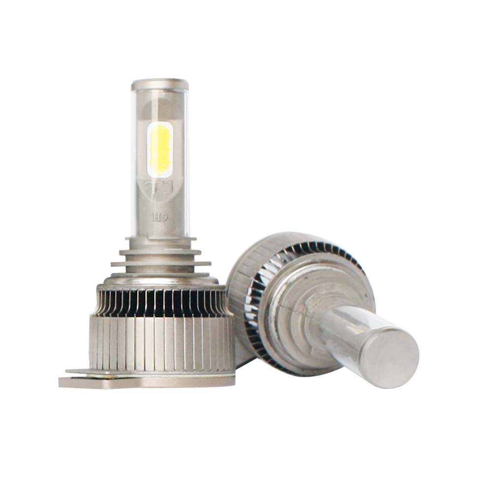 Easy installation LED headlight bulbs for cars and motorcycles H4 H1 H9 H8