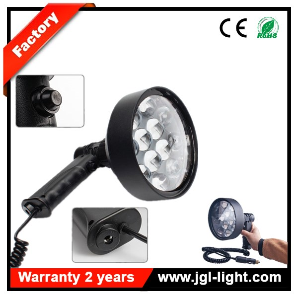 Factory outlet 36W SPOTLIGHT CREE LED Handheld Work Search Spot Light 12v Plug 3500LM