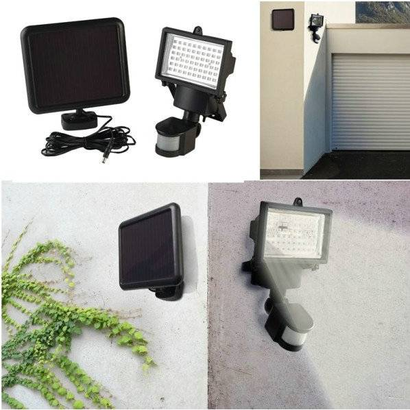 Solar Motion Sensor Light with 60LEDS