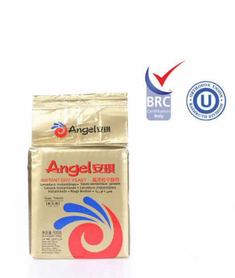 Angel 500g Sugar-tolerant instant dry yeast for bread, instant yeast
