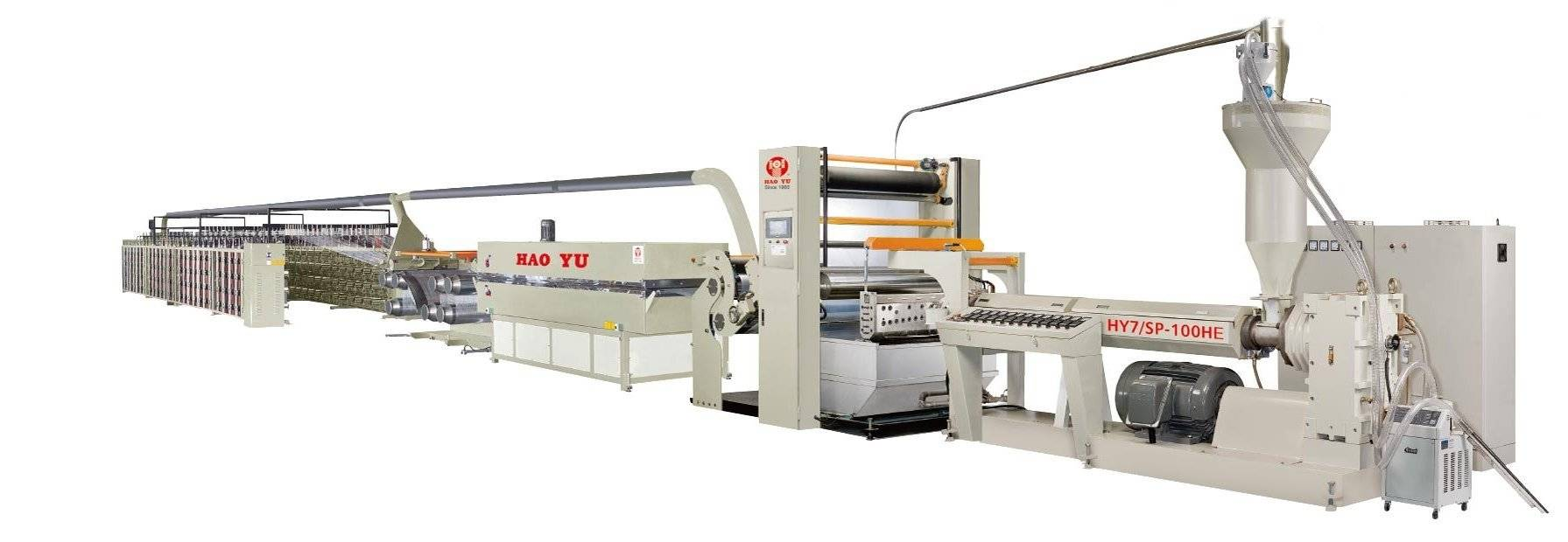 PP/HDPE High Speed Flat Yarn Extrusion Line (HY7/SP-80HE,90HE,100HE,110HE,120HE)