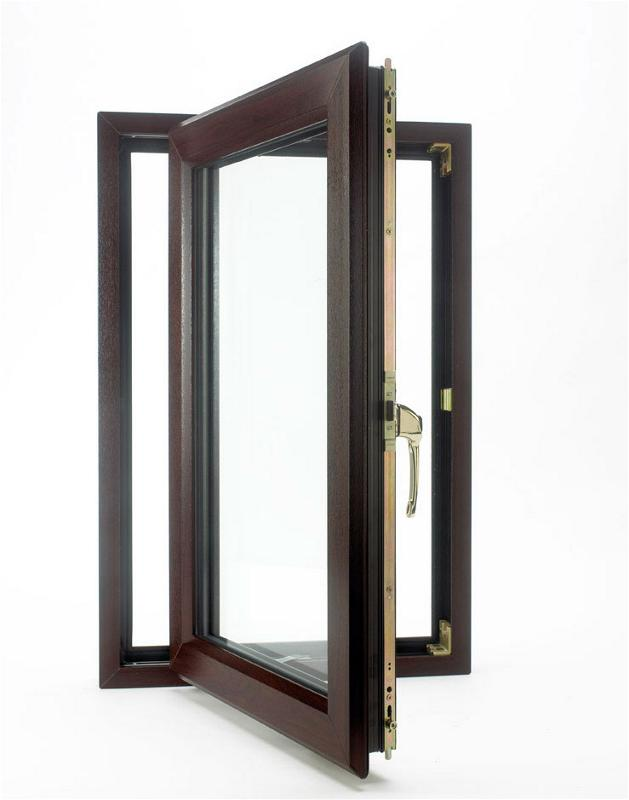 Custom French Aluminum Casement Window