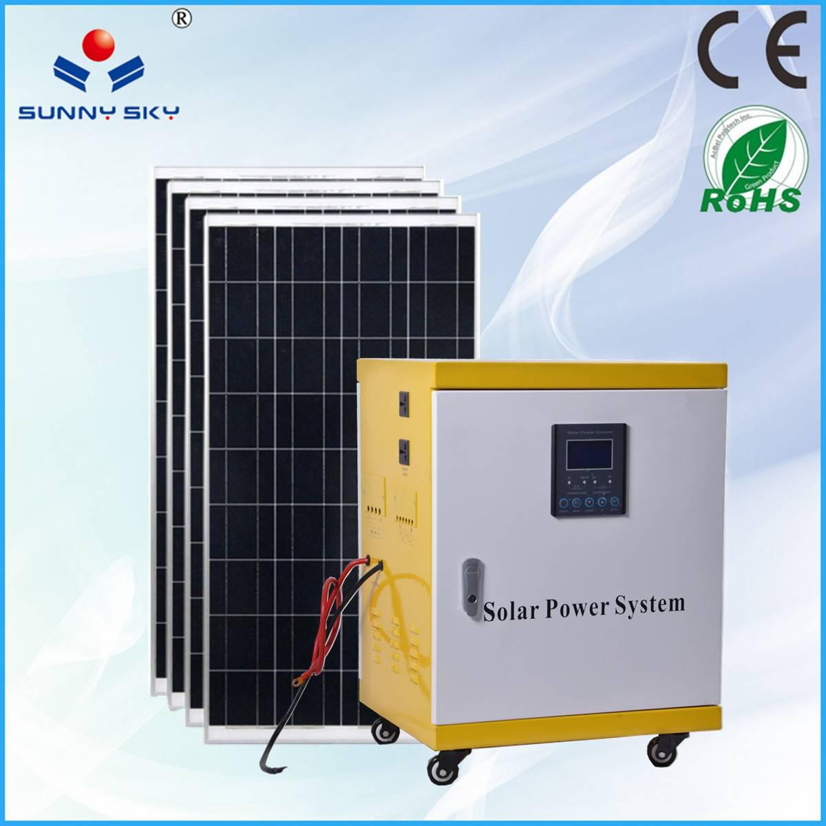 3KWsolar power generator with mppt solar controller inverter