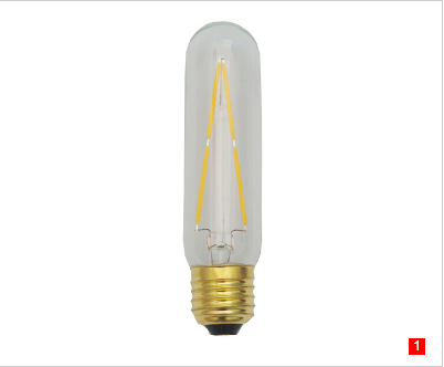 T30 E26 LED Filament tubular bulbs