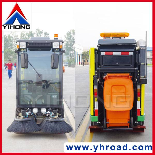 yihong road sweeper yhd22 car sweeper road