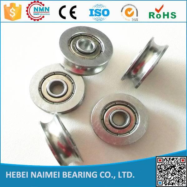 Cheaper price u /V sliding door roller bearings 5*21*7mm