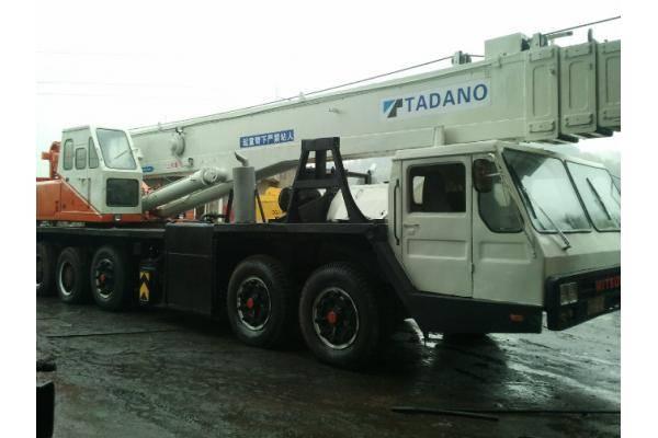 Original from Japan Tadano 75ton mobile crane truck crane