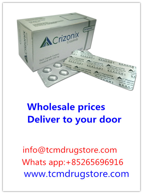 Crizonix (crizotinib capsules)---another name: Xalkori