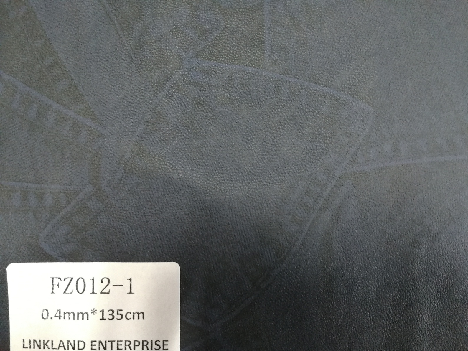 Environmental Printed Pattern PU Leather for Garment