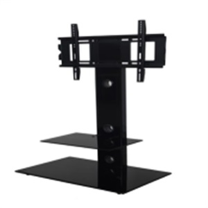 silk-screen tempered tv stand