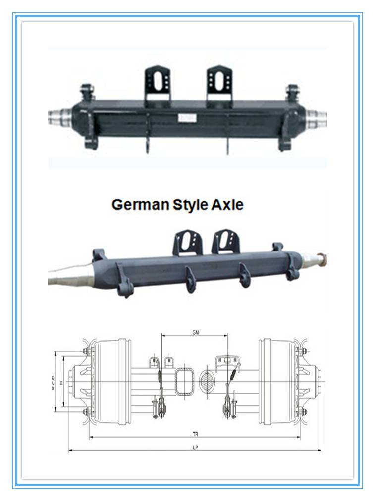 American Axle Beam with 13ton capacity