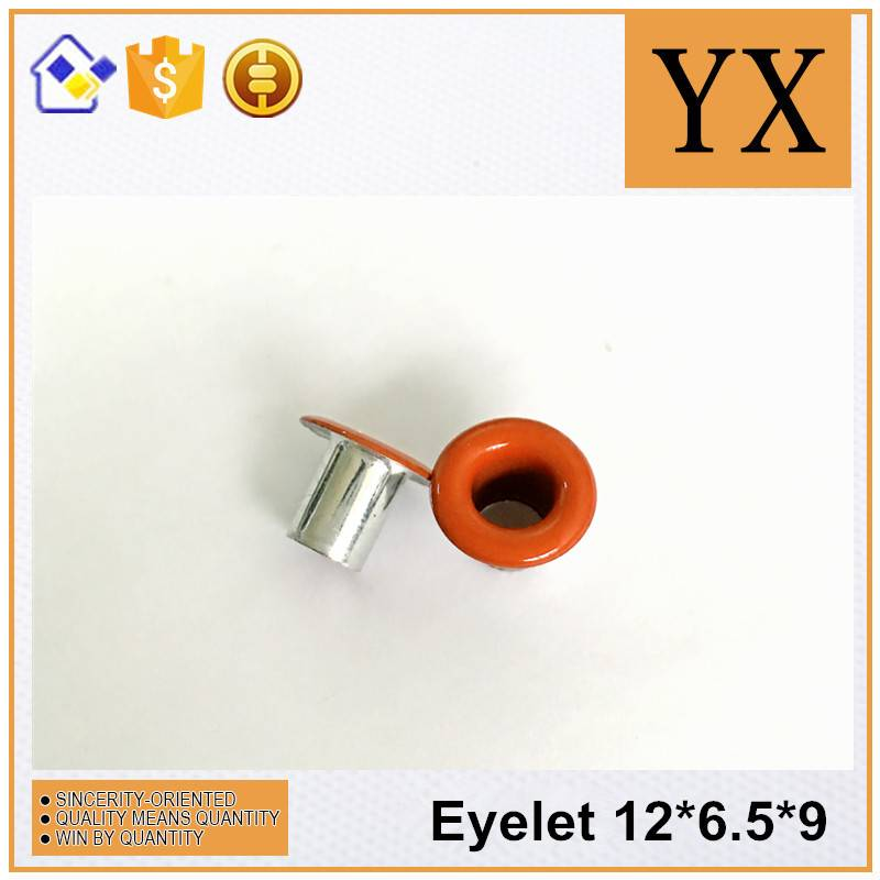 Metal eyelet for banner / tag
