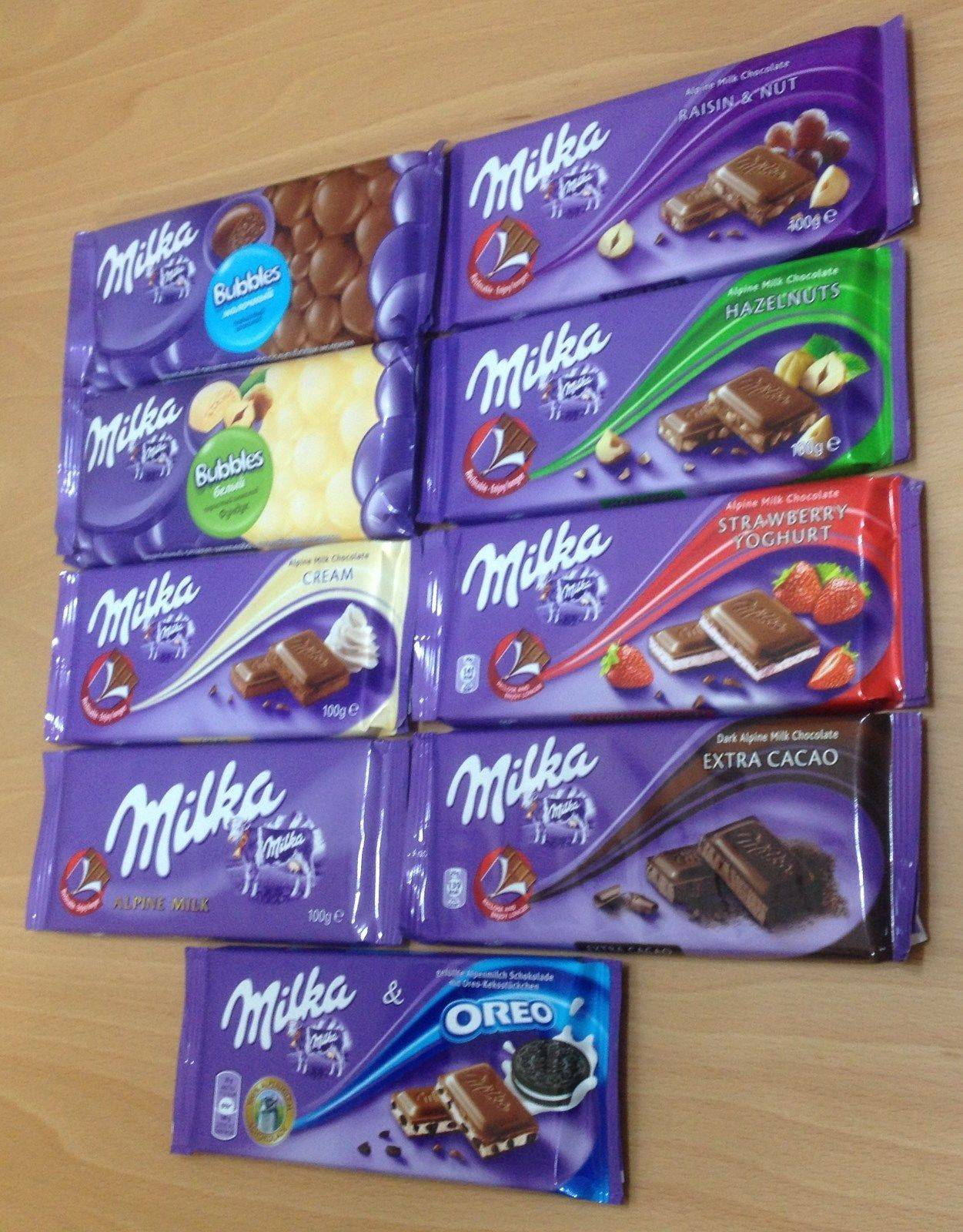 Milka Chocolate 100gr, 300gr