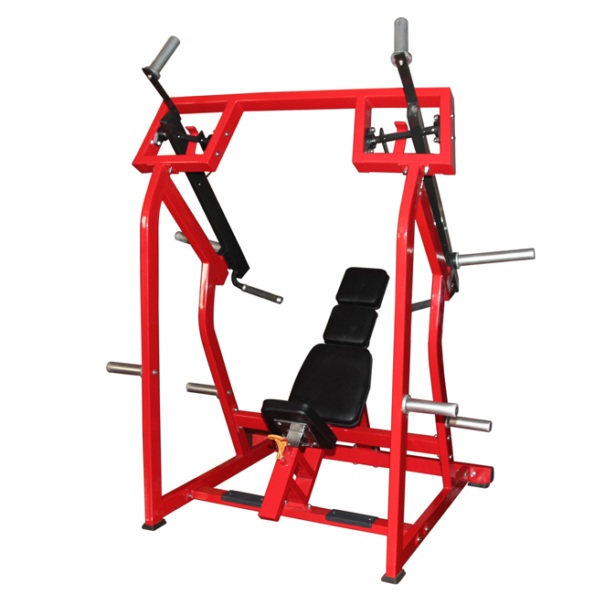 Lateral Strength Equipment Shoulder Press Machine Plate Loaded