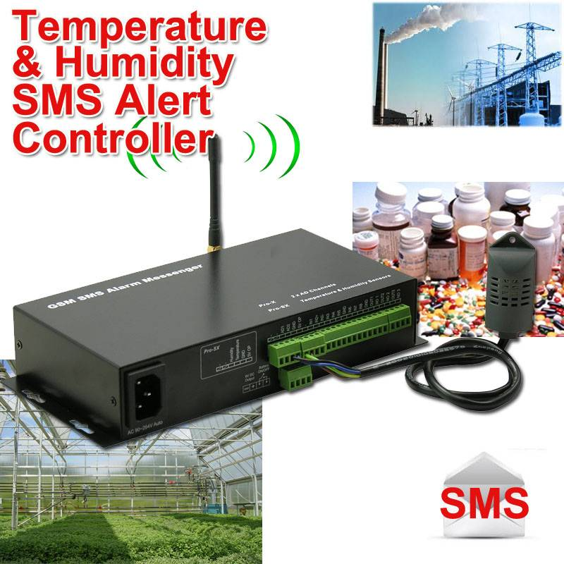 SMS Weather Alert Controller