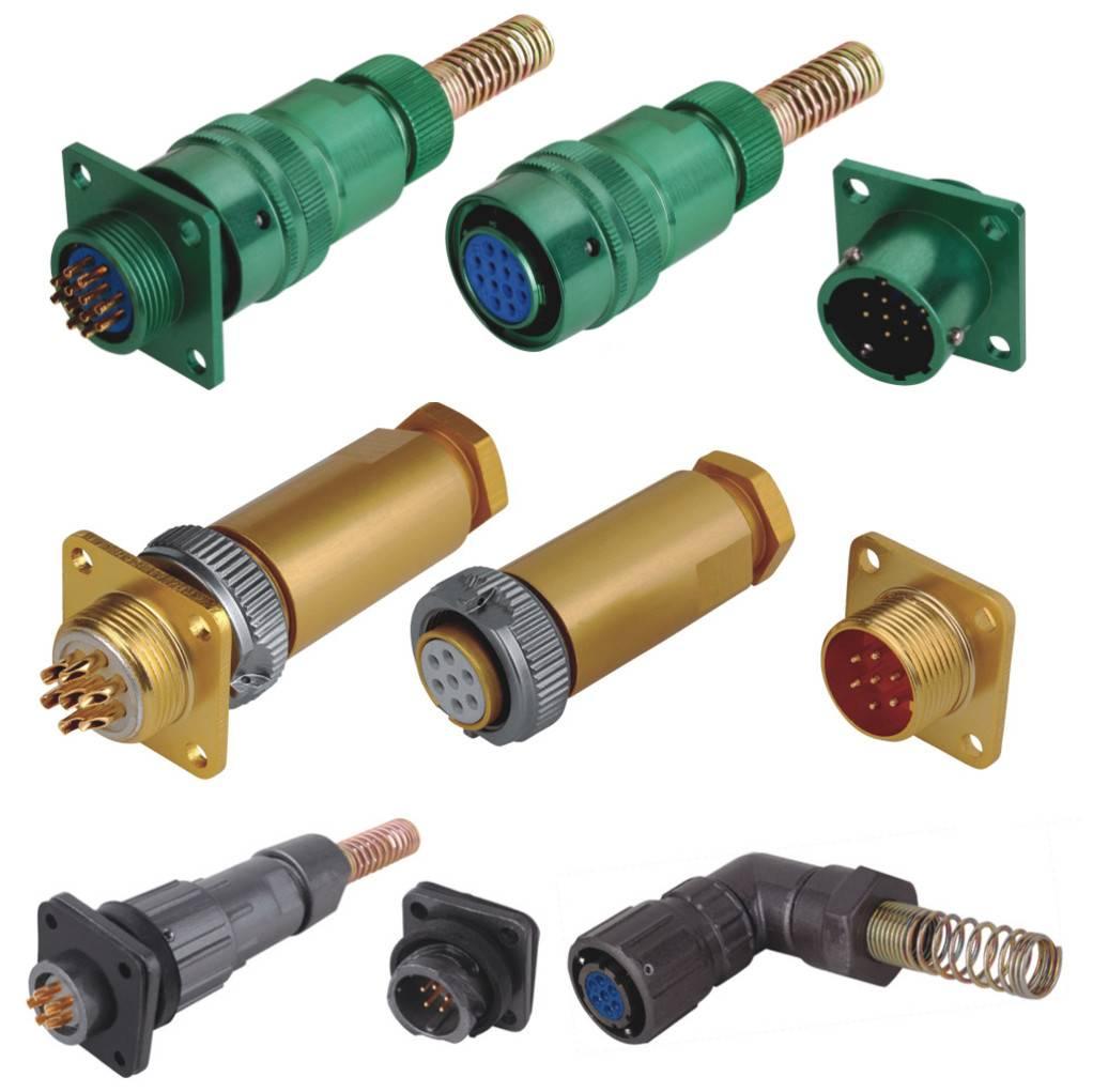 Russia standard connectors waterproof connectors circular connectors electrical connectors