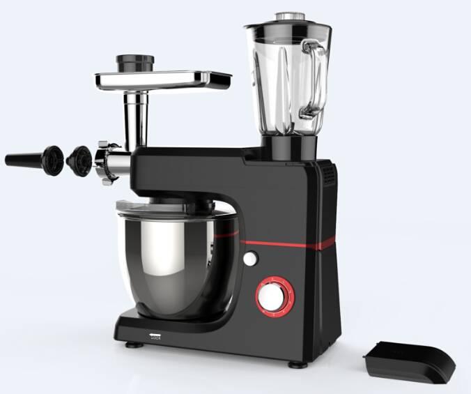 colorful stand mixer witn blender and meat grinderSM-1501BM