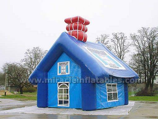 Outdoor adverting inflatable house tent,warehouse tent for sale C1001