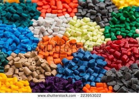 Plastic granules -virgin