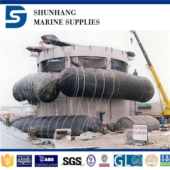 Salvage wrecked ships rubber airbag