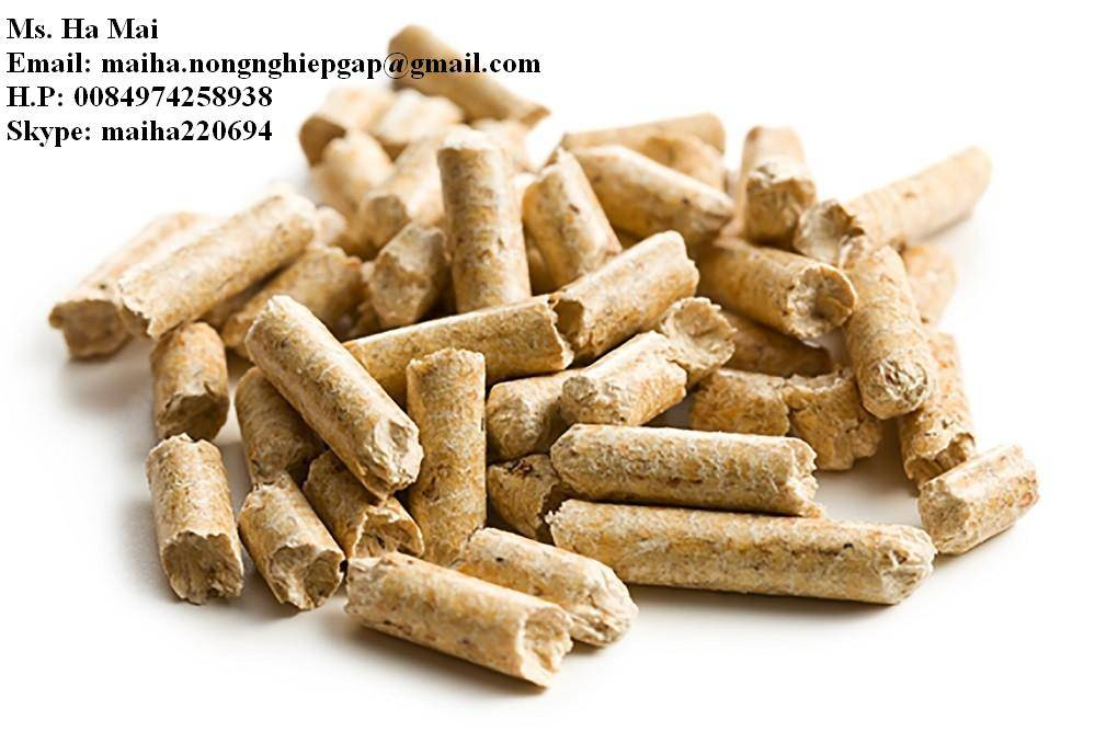 WOOD PELLETS FOR BIOMASS WITH LARGE QUATITIES
