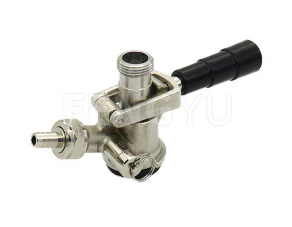 D keg couplers, with relief valve